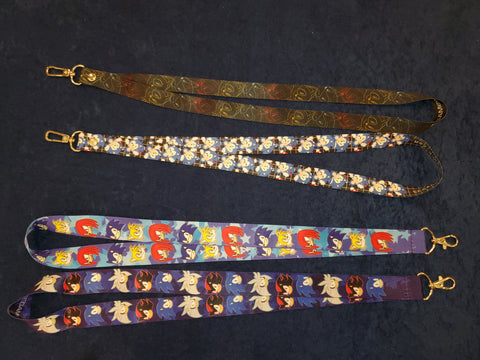 Sonic Inspired Lanyards