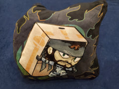 "12"" Solid Snake Plush Pillow"