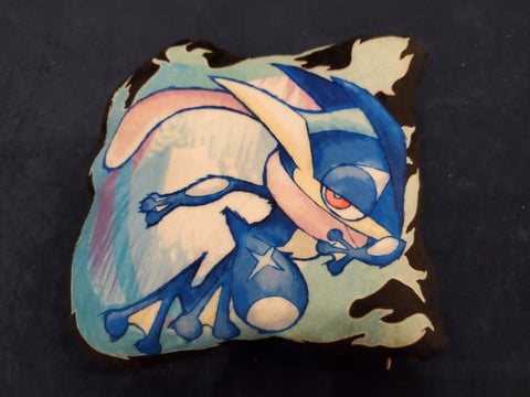 "12"" Greninja Plush Pillow"