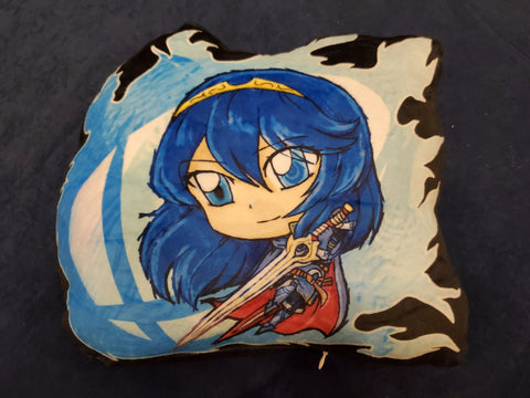 "12"" Lucina Plush Pillow"