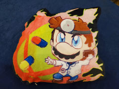 "12"" Dr. Mario Plush Pillow"