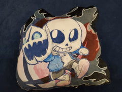 "12"" Sans (Mii Gunner ver.) Plush Pillow"