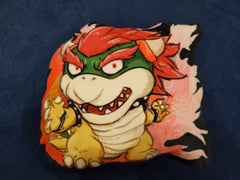 "12"" Bowser Plush Pillow"