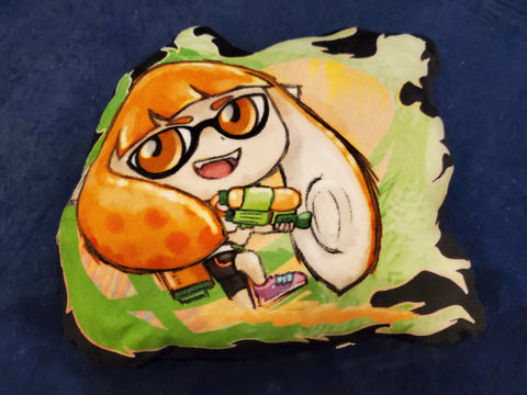 "12"" Inkling (Girl ver.) Plush Pillow"