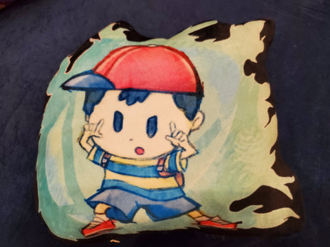 "12"" Ness Plush Pillow"