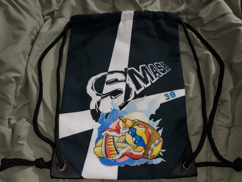 "17"" King Dedede Drawstring Bag"