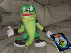 Modern Vector the Crocodile Plush Tomy