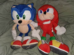 Sonic Adventure Sonic & Knuckles Plush