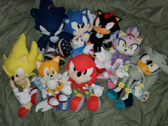 Various GE Sonic Plush