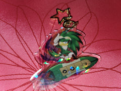 "2.5"" Jet the Jawk Holographic Keychain"
