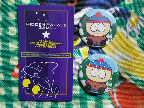 "1.5"" Stan Marsh South Park Pinback Button"