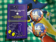 "1.5"" Classic Sonic Pinback Button"