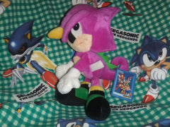 Espio Plush (replaced tag barb) [StF]