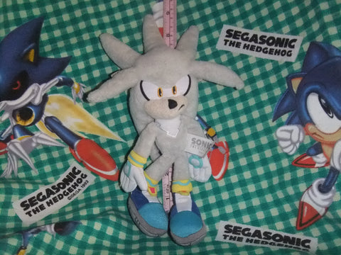 Silver the Hedgehog Plush
