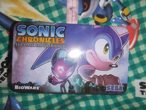 Sonic Chronicles Promotional Tin