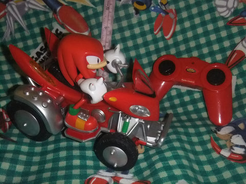 Knuckles Sonic All Star Racing RC
