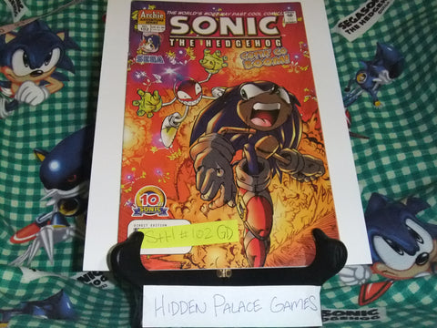 Sonic the Hedgehog #102 - GD