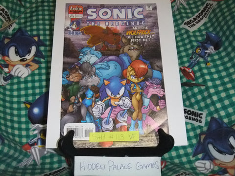 Sonic the Hedgehog #113 - VF