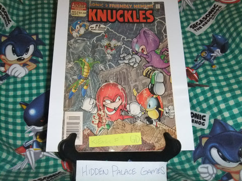 Knuckles the Echidna (Mini Series) #3 - GD