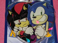 "2.5"" Sonadow OTP Shipping Doubleside Holo Acrylic Keychain"