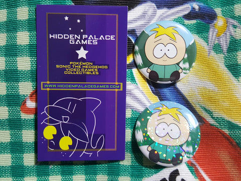 "1.5"" Butters Stotch South Park Pinback Button"
