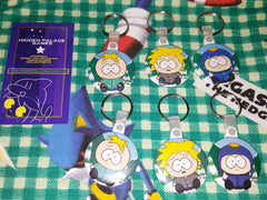 South Park Craig's Gang Normal and Sparkle Keychains