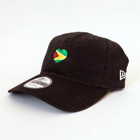 Guyana Heart/1 LOVE T.O. New Era 9TWENTY (Dad Cap)