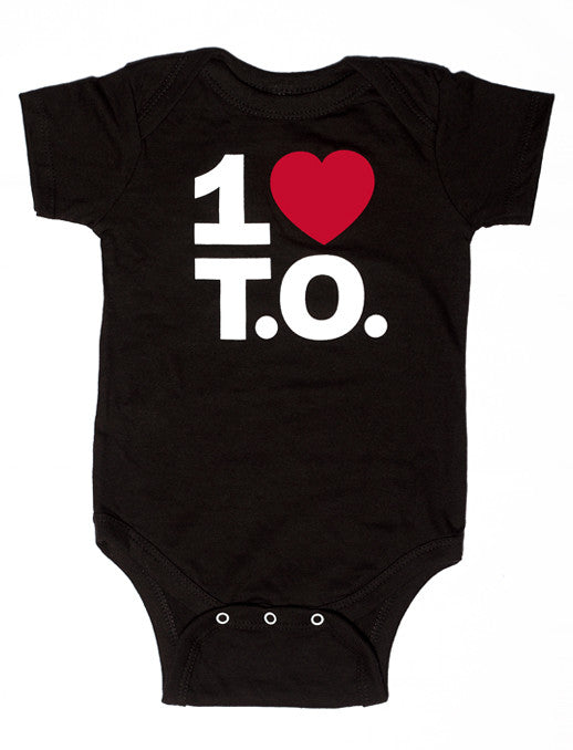 Original Red Heart Baby Onesie