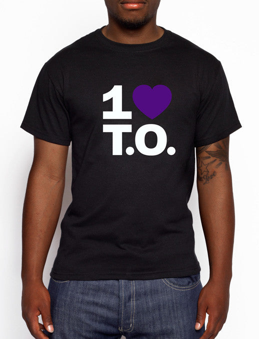Men's Original Purple Heart / Black Tee