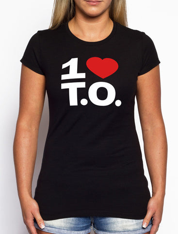 Women's Original Red Heart / Black Tee