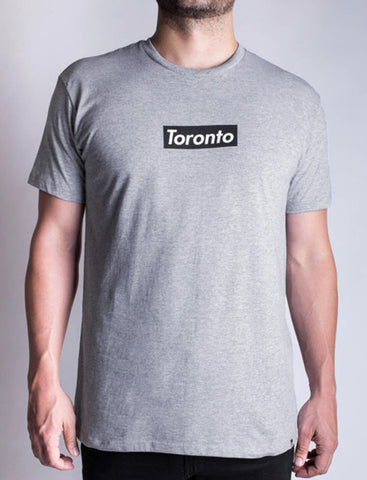 "Men's ""Toronto"" Athletic Grey T"
