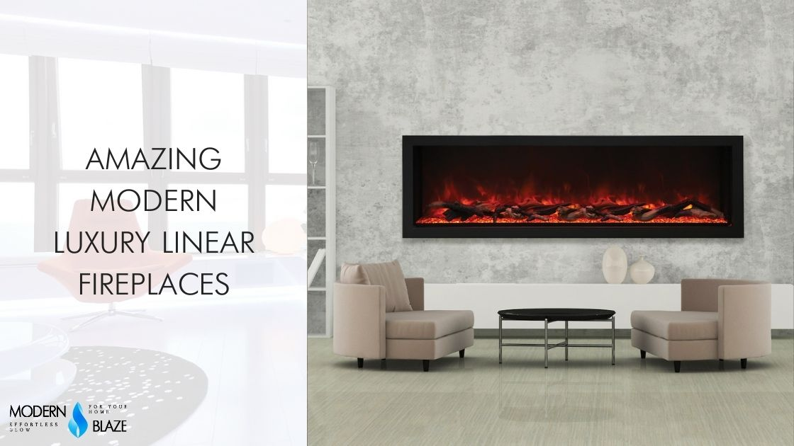 Amazing Modern Luxury Linear Fireplaces