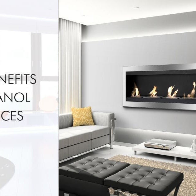 The 5 Benefits of Ethanol Fireplaces