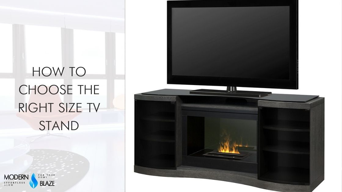 How to Choose the Right Size TV Stand