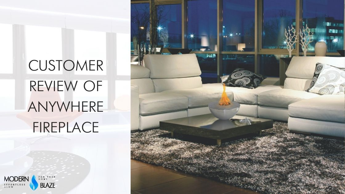 Customer Review of Anywhere Fireplace