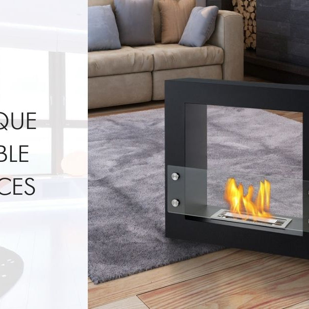 10 Unique Portable Fireplaces