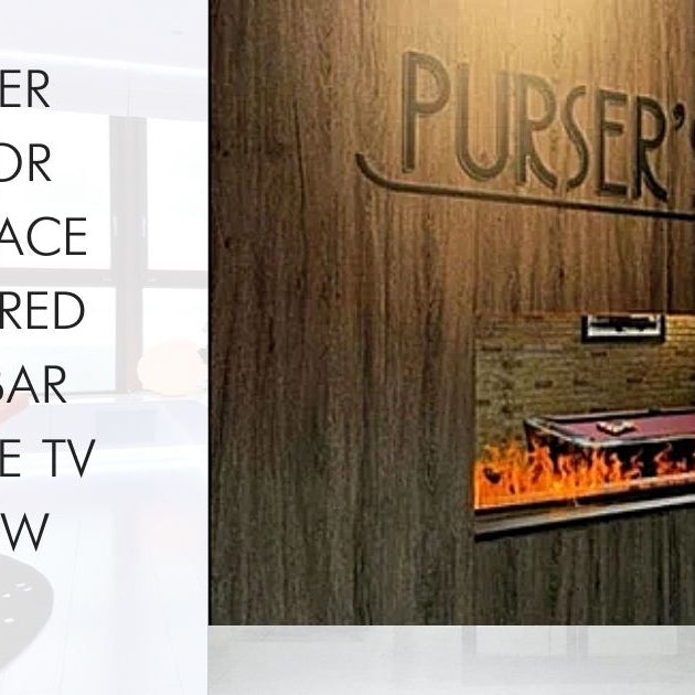 Dimplex Opti-Myst Water Vapor Fireplace Featured on Bar Rescue TV Show!
