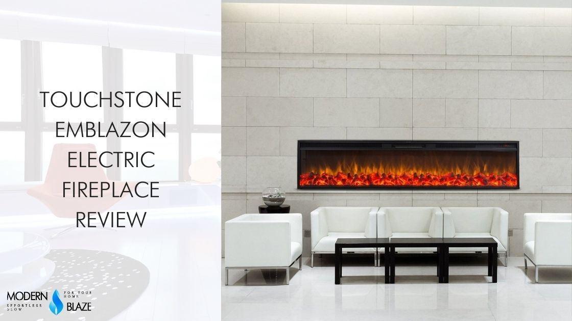 Touchstone Emblazon Electric Fireplace Review