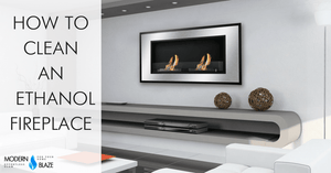 How to Clean Stainless Steel Ethanol Fireplace