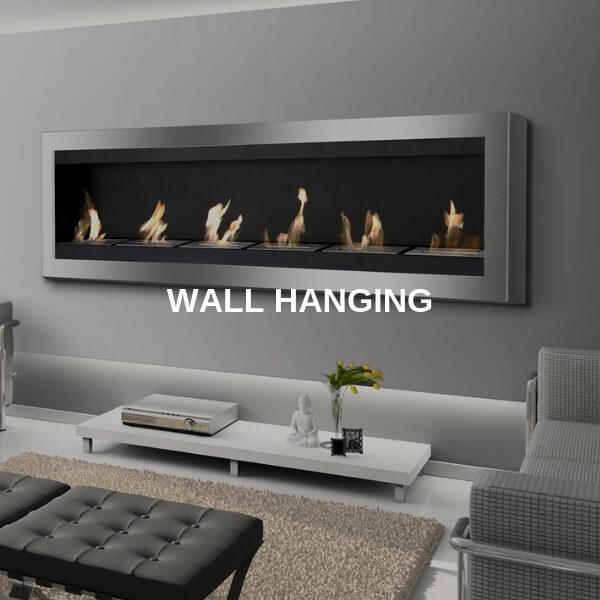 Wall Hanging Fireplaces