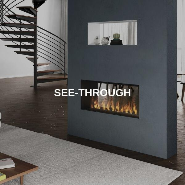 See-Through Fireplaces