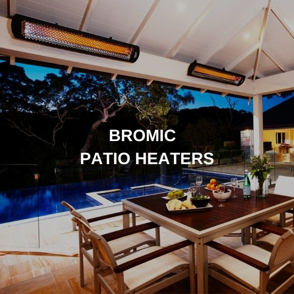"Bromic Luxury Patio Heaters - 10% OFF with Coupon Code ""HEAT"""