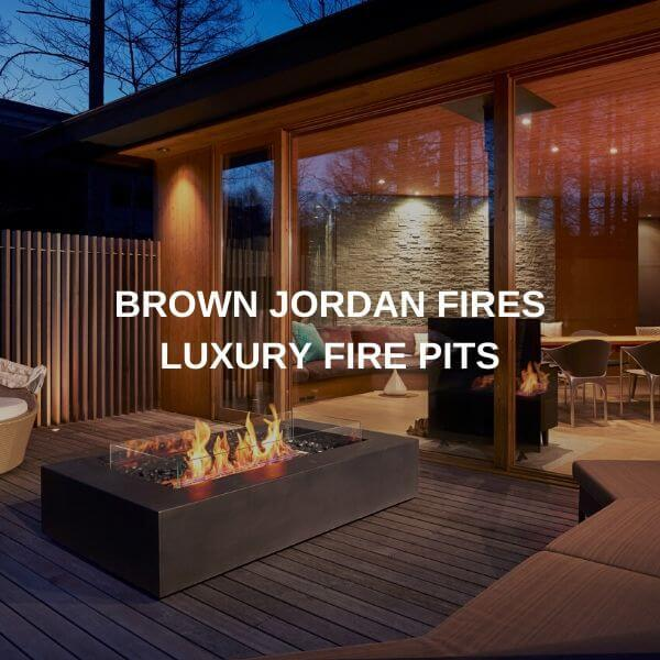 Brown Jordan Fires Luxury Fire Pit Tables