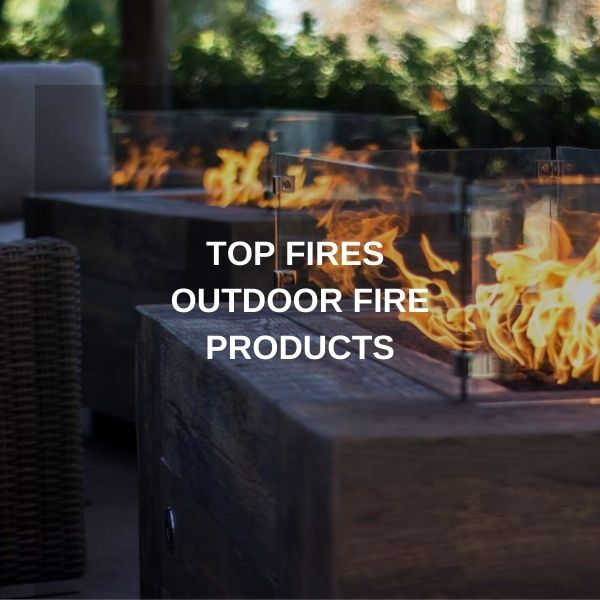 "Top Fires USA Made Premium Gas Fire Pits - 10% OFF with Coupon Code ""FIREPIT"""