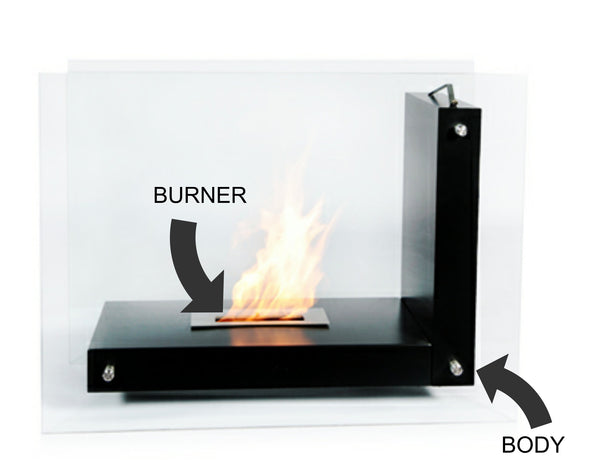 Structure of Ethanol Fireplace