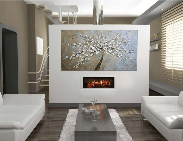 "Dimplex Opti-V™ Solo 29"" UL Listed Built-in Linear Electric Fireplace (VF2927L)"