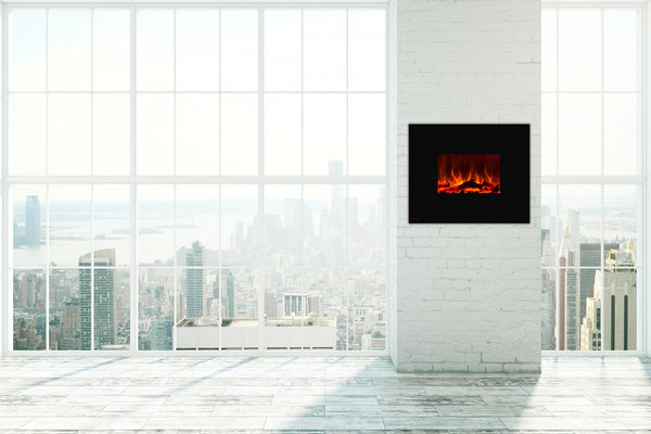 Small Wall Mounted Electric Fireplace Placement Ideas