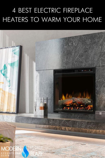 4 Best Electric Fireplace Heaters To Warm Your Home in 2021