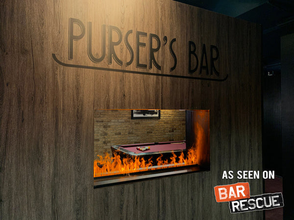 Bar Rescue Dimplex Opti-Myst Fireplace