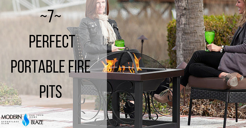 7 Perfect Portable Fire Pits